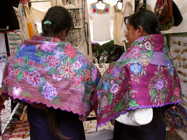 Chiapas - Traditional Mayan clothing