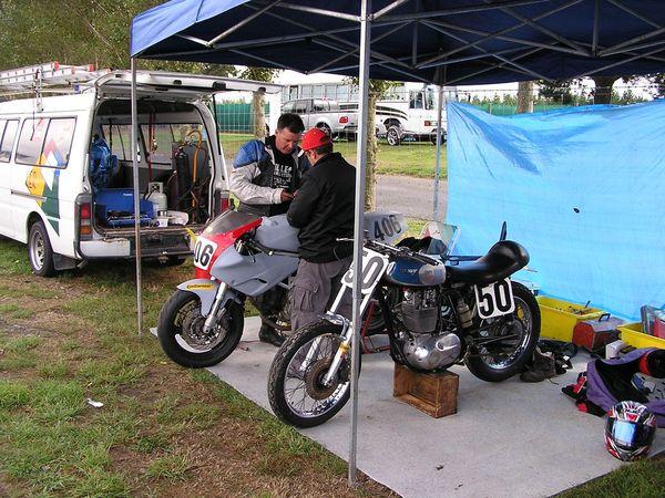 Bear's Sound of Thunder meeting. Ruapuna Raceway, Christchurch NZ