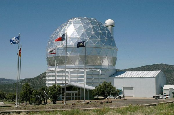 McDonald Observatory in Fort Davis Texas