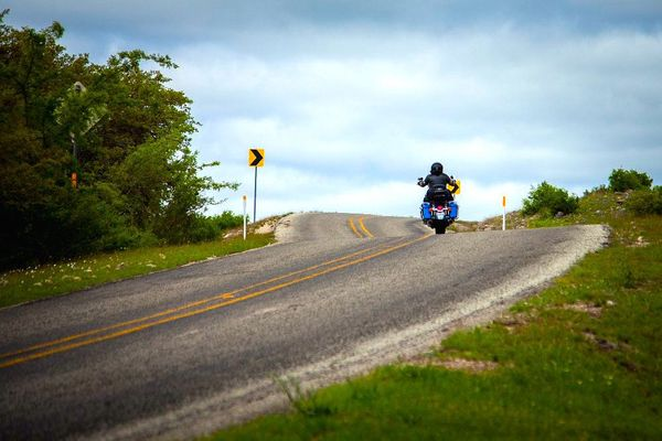 Motorcycle Riding — Three Twisted Sisters