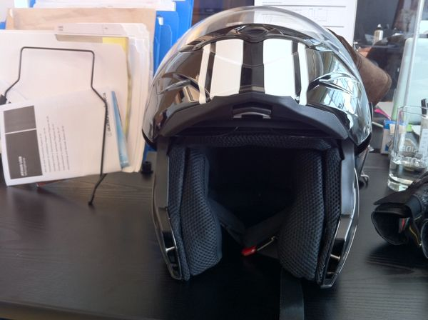 Bell Revolver helmet (open)