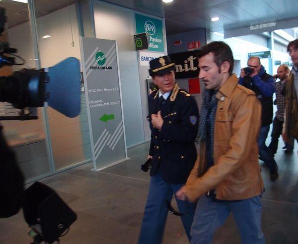 Max Biaggi at EICMA 2013