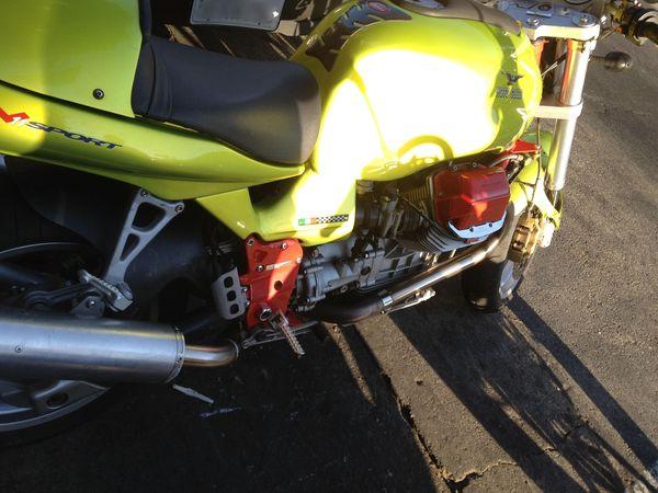 Moto Guzzi V11, spotted in the wild