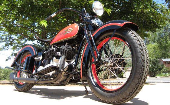 1936 Harley Davidson VLD Sport Solo