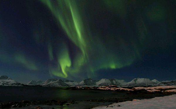 Aurora over Harstad