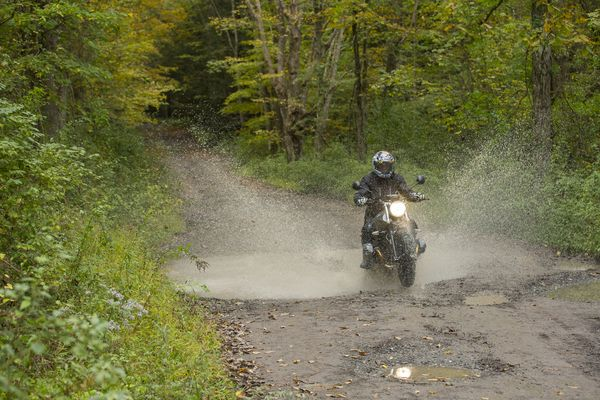 How to get a Motorcycle Proper Dirty