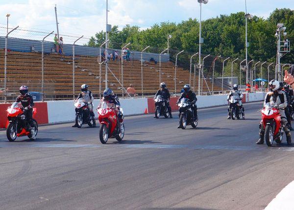 Starting grid Rd#2, Race #1