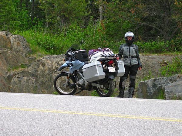 Sandra & Bike