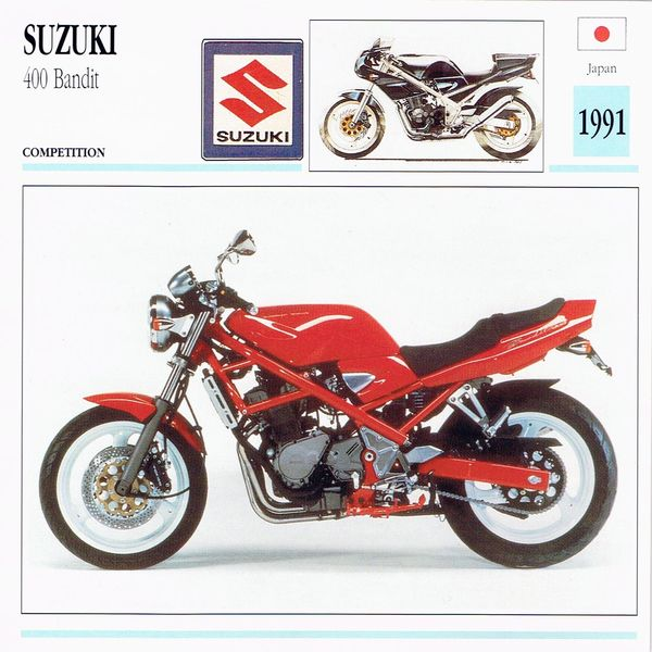 1991 suzuki 400 bandit bike eatsleepride. Black Bedroom Furniture Sets. Home Design Ideas