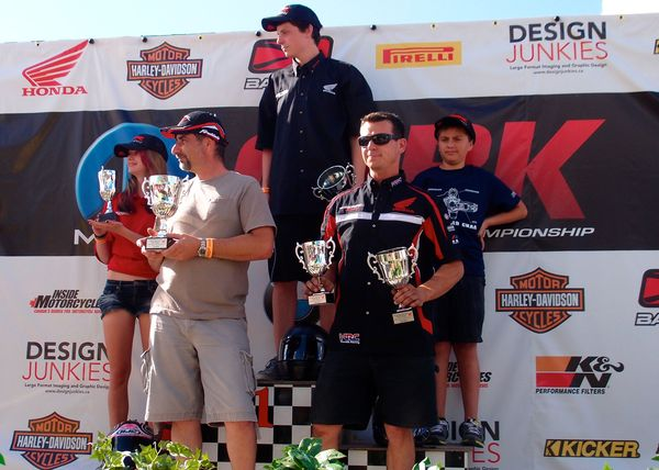 Race #1 CBR250R Winners
