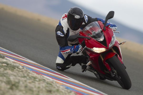 2013 Triumph Daytona - in action