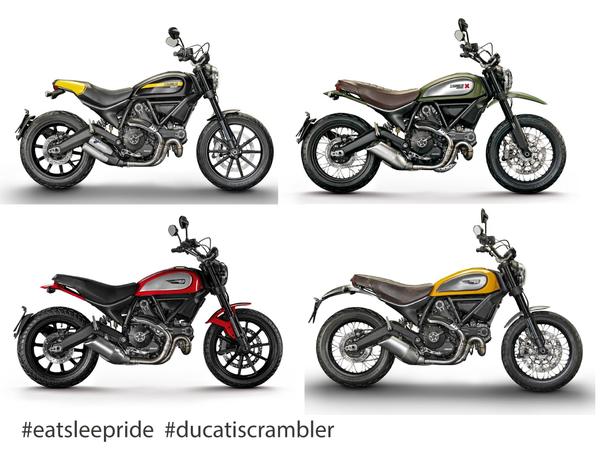 Ducati Scrambler times four!