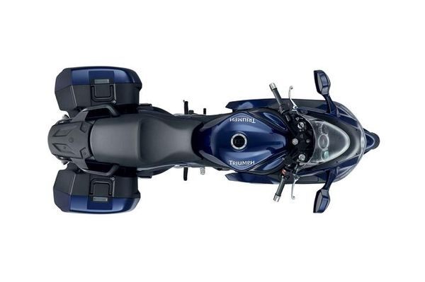 2013 Triumph Sprint GT - top view