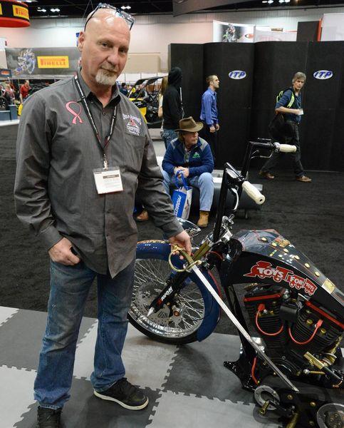 US Marine Corps concept bike - Tim Banks