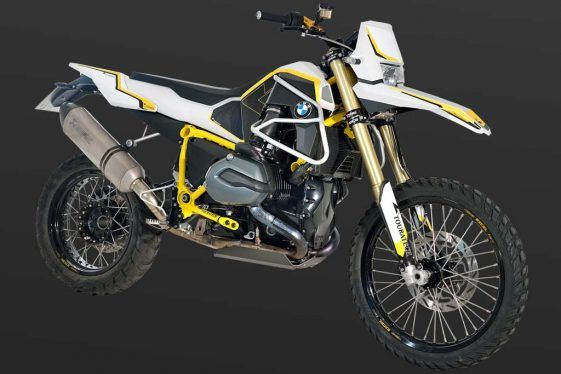 The GS Rambler in the Touratech Paint Scheme
