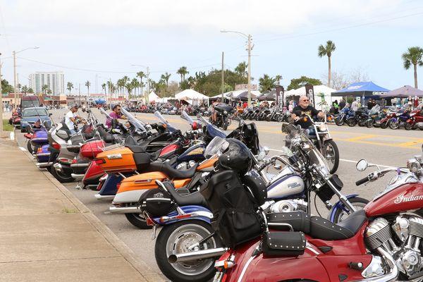 The bikes of Beach Street