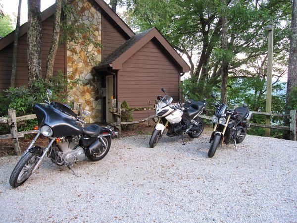 Our Motorbikes at Snowbird Mountain Deals Gap.jpg