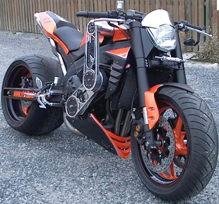 Kawasaki Z1 customizations run from sublime to this