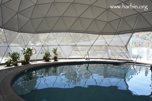 Harbin Hot Springs indoor pool