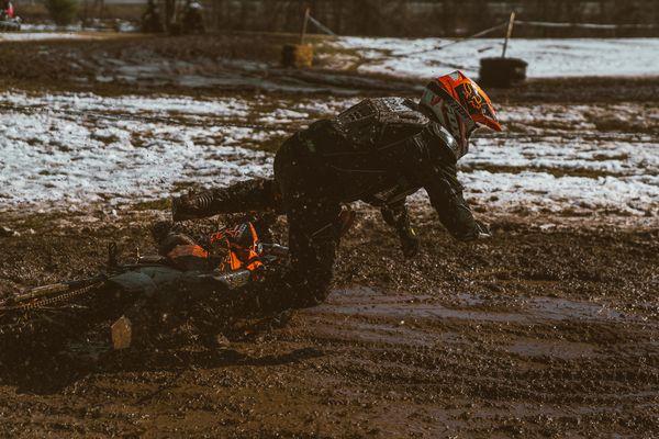 Grand Prix de Snow mud bath