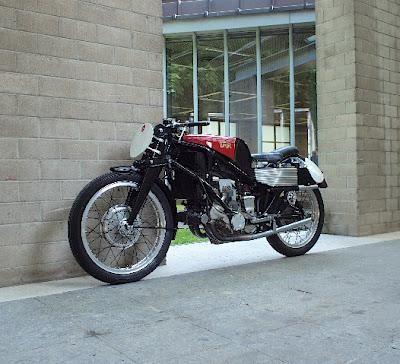 Gilera 500cc Supercharged Rondine