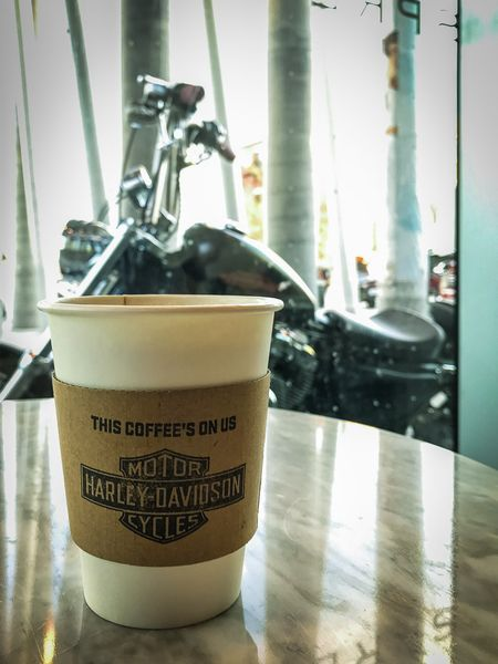 Cuppa Joe, Courtesy Of The Folks At H-D!