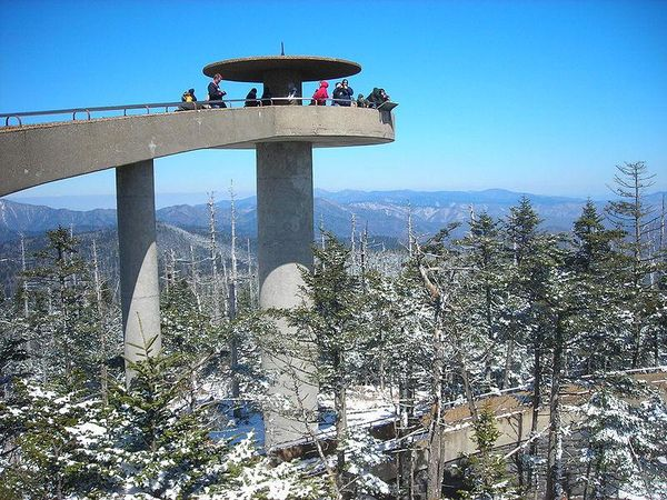 Clingman's Dome Tower, Great Smokey Mountains