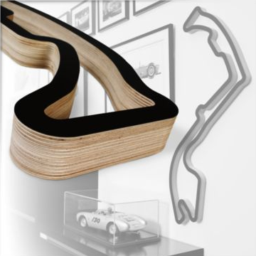 Race Tracks - As Art For Your Walls