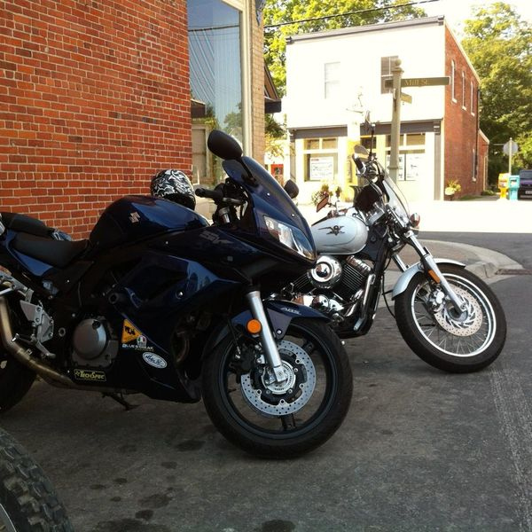 SV650 in Creemore Ontario
