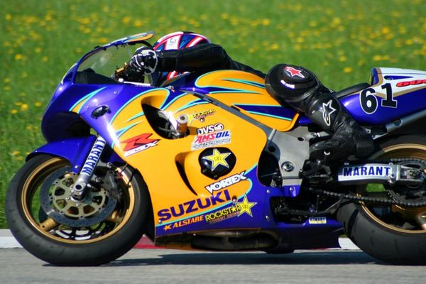 Hot Lap is a motorcycle racing TV show