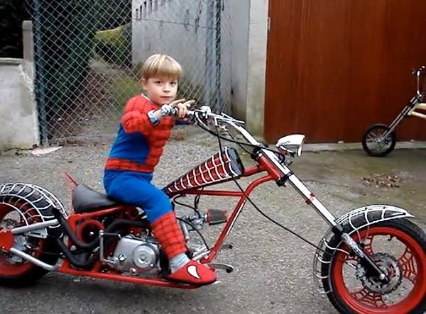 I hate Halloween but I love freaky motorcycles