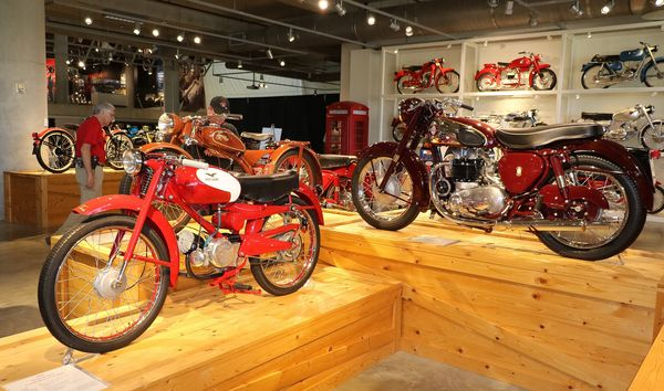 Beautiful machinery at the Barber Vintage Motorsports Museum