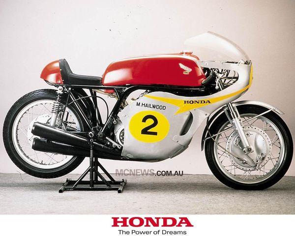 Mike Hailwood's RC181