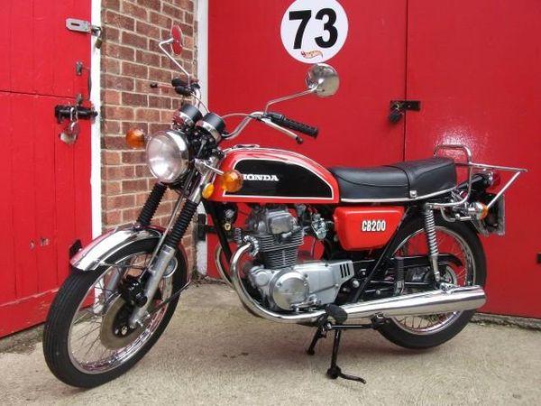 1973 Honda CB200