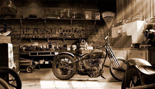 The art of motorbike restoration