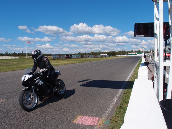CSBK Shannonville practice ride
