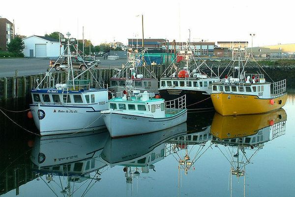 Yarmouth Harbour, Nova Scotia