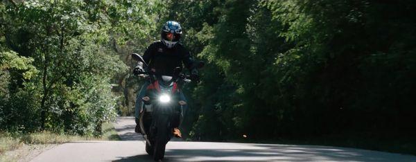 Erik Buell ride Wisconsin with Eric Ristau for EatSleepRIDE