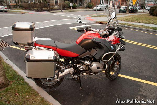 BMW R1200GSA Right