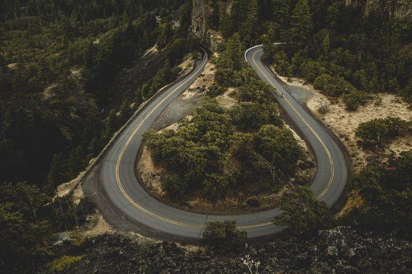 The I-84 from above by Lanakila MacNaughton for EatSleepRIDE