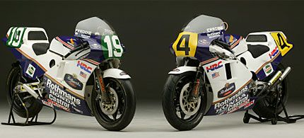 1985 NSR500 and NSR250 - Display