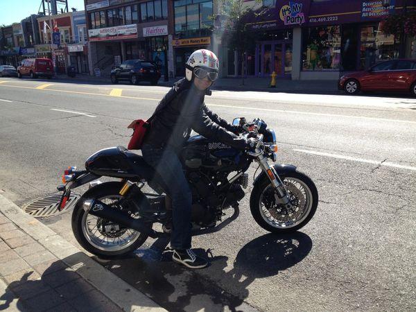 Riding my Ducati Sport 1000